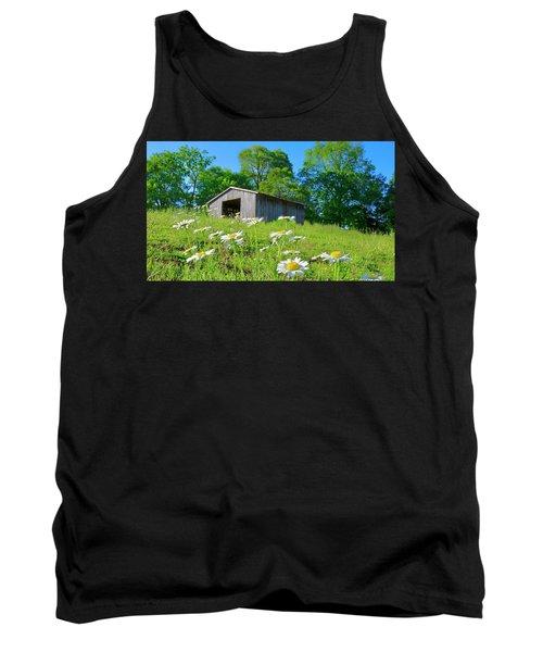 Flowering Hillside Meadow Tank Top