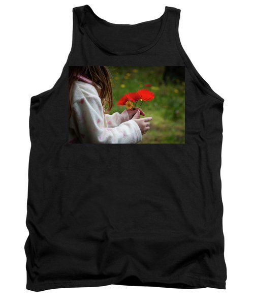 Tank Top featuring the photograph Flowers by Bruno Spagnolo