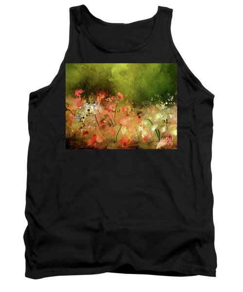 Tank Top featuring the photograph Flowers Of Corfu by Lois Bryan