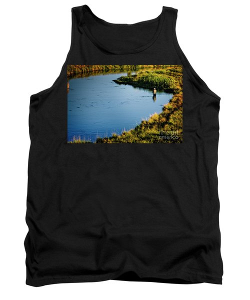 Fly Fishing  Tank Top