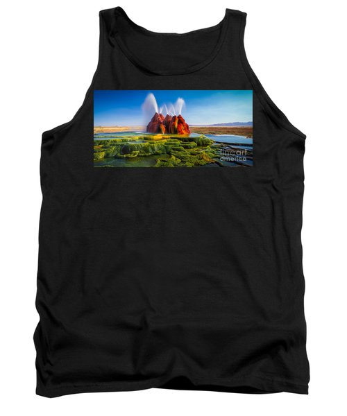 Fly Geyser Panorama Tank Top