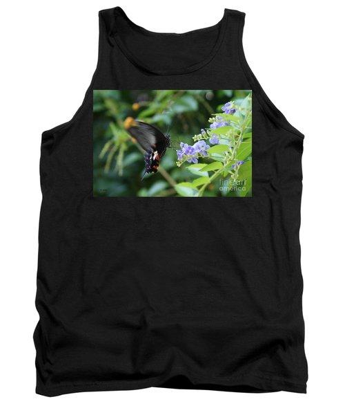 Fly In Butterfly Tank Top