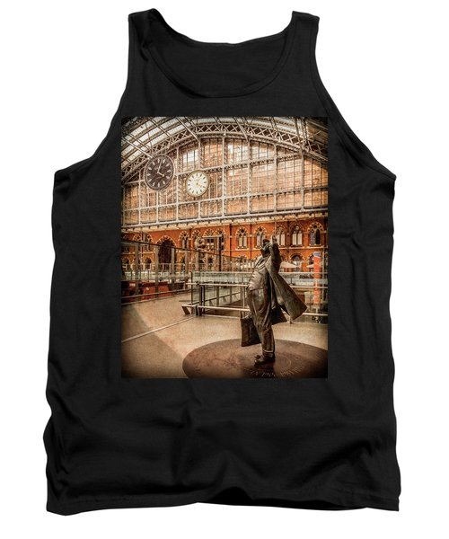 London, England - Flying Time Tank Top