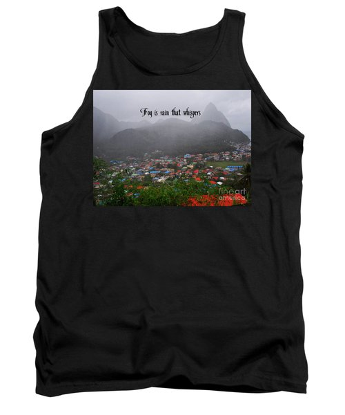 Tank Top featuring the photograph Fog by Gary Wonning