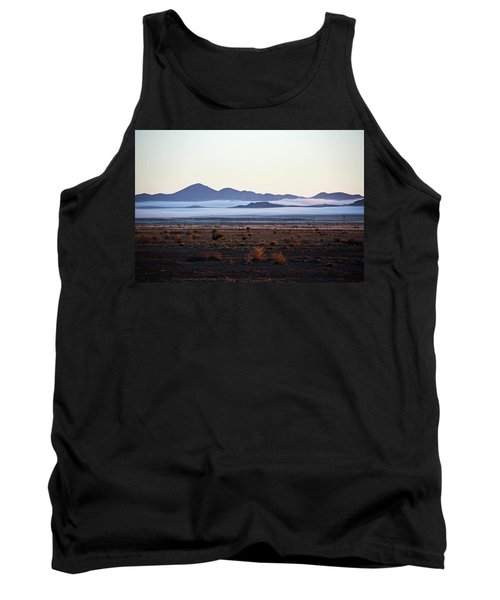 Fog In The Peloncillo Mountains Tank Top
