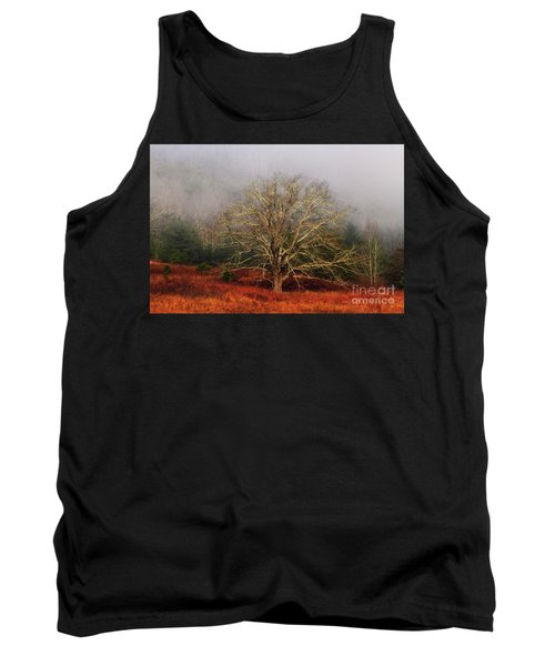 Fog Tree Tank Top by Geraldine DeBoer