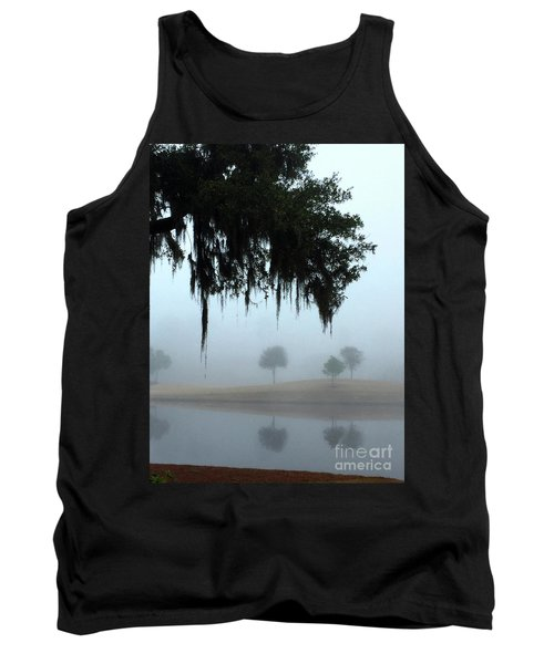 Foggy Morn Reflections Tank Top