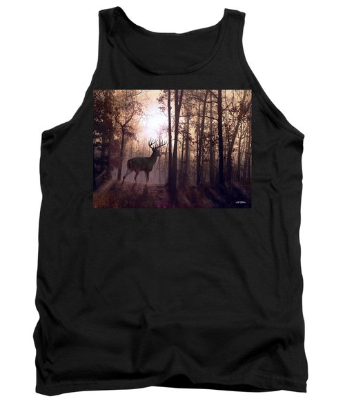 Foggy Morning In Missouri Tank Top by Bill Stephens