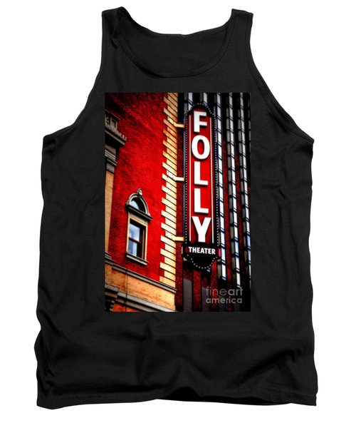 Folly Theater Tank Top