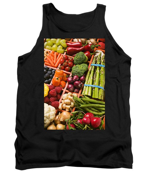 Food Compartments  Tank Top by Garry Gay