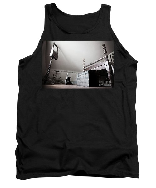 Foot Of The Bed Tank Top by Randall Cogle