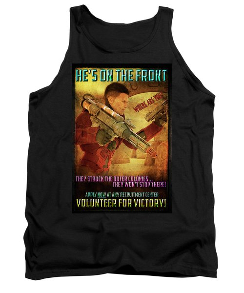 For Victory Tank Top