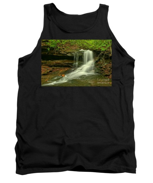 Forbes State Forest Cole Run Cave Falls Tank Top