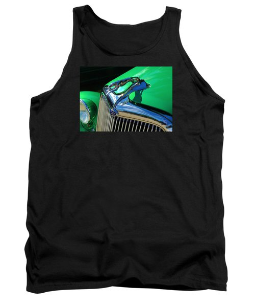 Ford Greyhound Hood Ornament Tank Top