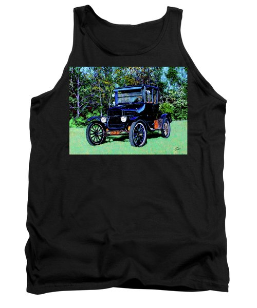 Ford Model T Tank Top by Stan Hamilton