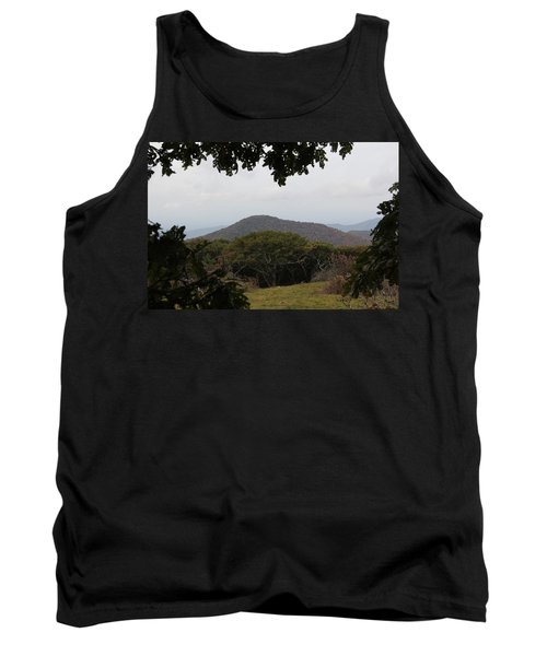 Forest Dark Space Tank Top