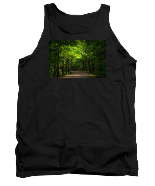 Forest Path Tank Top by Parker Cunningham
