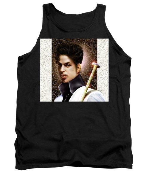 Forevermore The Young Prince Of Paisley 1a Tank Top