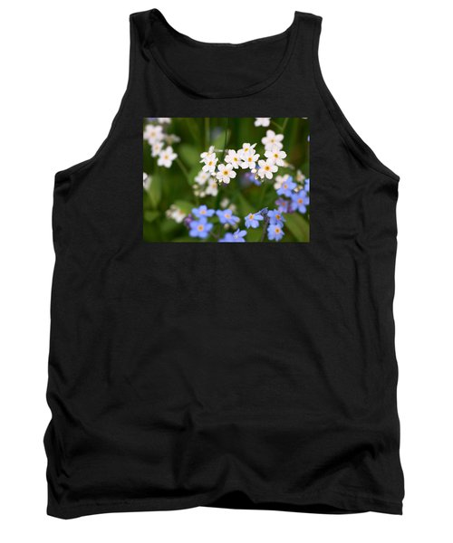 Forget Me Nots Tank Top by Jouko Lehto