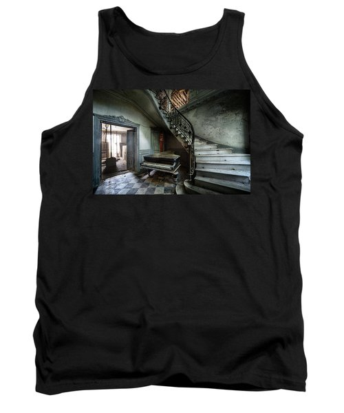 The Sound Of Decay - Abandoned Piano Tank Top