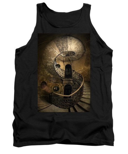 Forgotten Staircase Tank Top