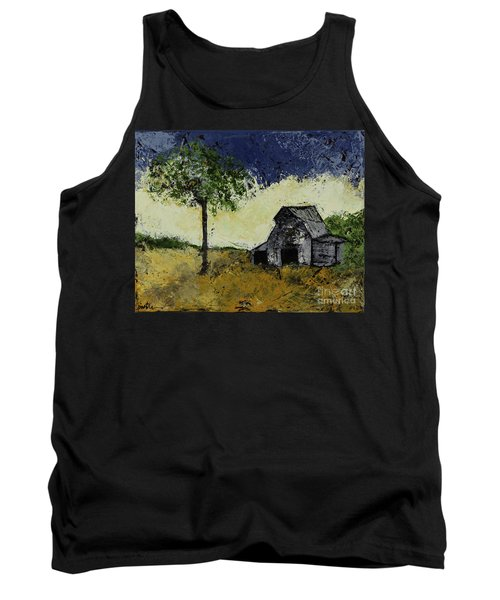 Forgotten Yesterday Tank Top by Kirsten Reed