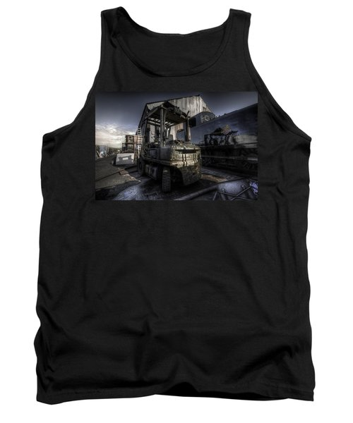 Forklift Tank Top by Yhun Suarez