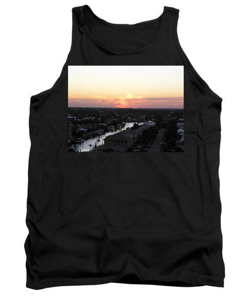 Fort Lauderdale Sunset Tank Top by Patricia Piffath