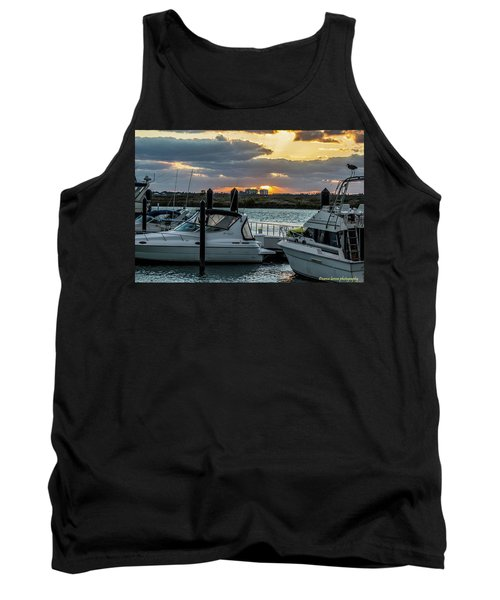 Fort Pierce Marina Tank Top