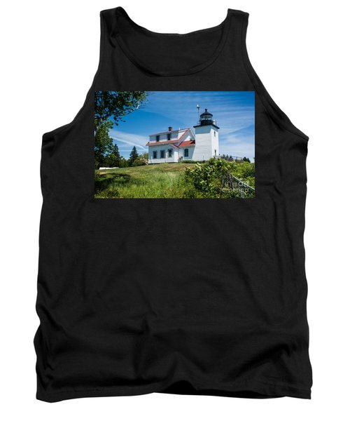Fort Point Lighthouse  Stockton Springs Me 2  Tank Top