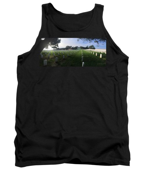 Tank Top featuring the photograph Fort Rosecrans National Cemetery by Lynn Geoffroy