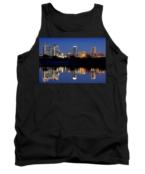 Fort Worth Reflection 41916 Tank Top