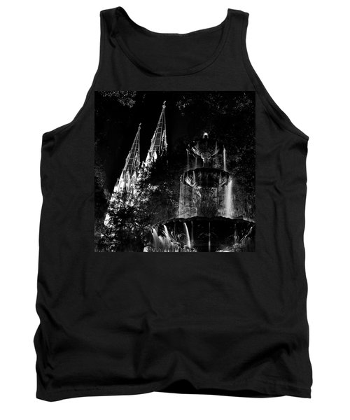 Fountain And Spires Tank Top