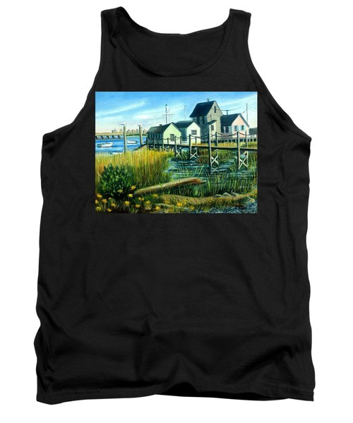 High Tide In Broad Channel, N.y. Tank Top