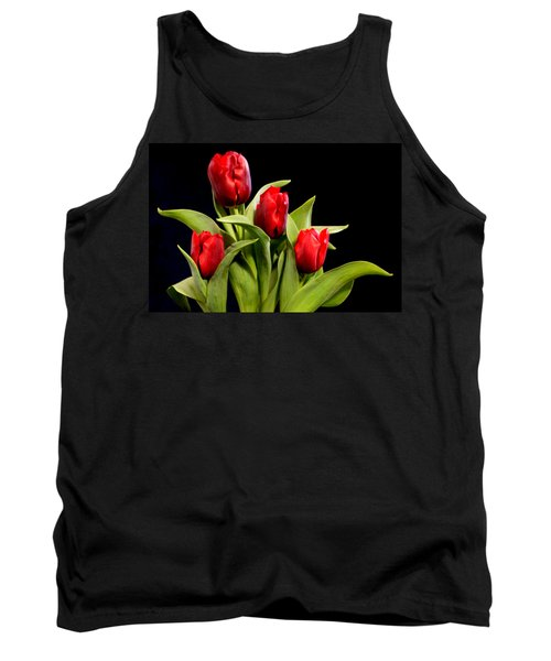 Four Tulips Tank Top