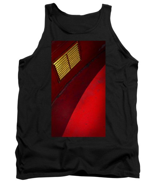 Tank Top featuring the photograph Foxy by Skip Hunt