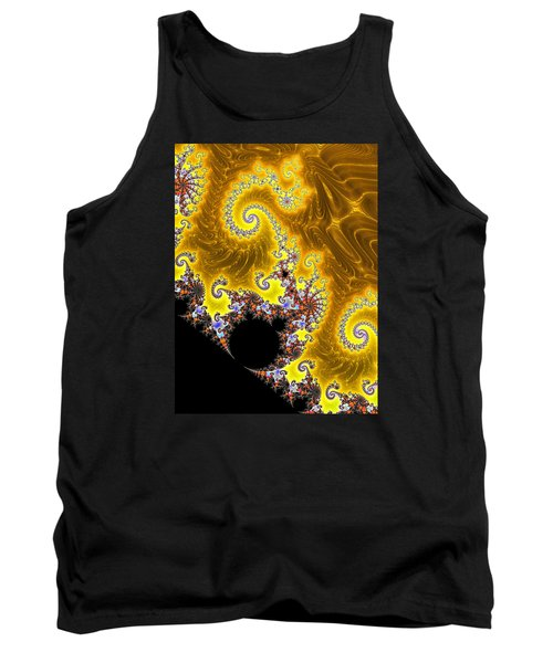 Tank Top featuring the photograph Fractal Coastline by Ronda Broatch
