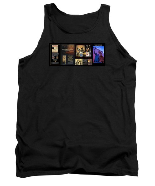 Franciscans And French Dauphins And Freemasons Oh Why? Tank Top by Peter Hedding