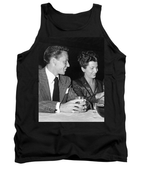 Frank Sinatra And Nancy Tank Top by Underwood Archives
