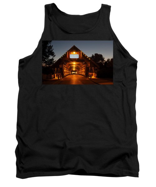 Frankenmuth Covered Bridge Tank Top by Pat Cook