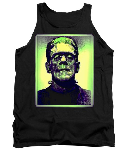 Frankenstein In Color Tank Top
