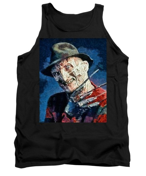 Freddy Kruegar Tank Top