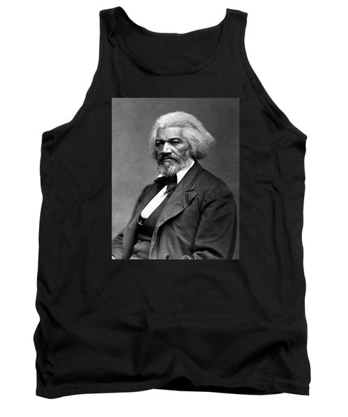 Frederick Douglass Photo Tank Top
