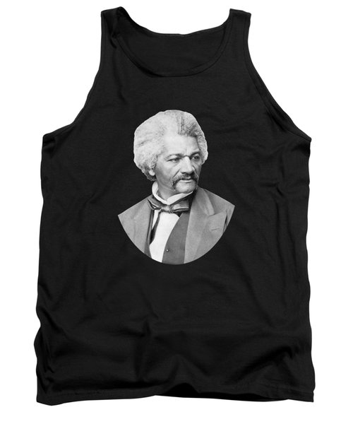 Tank Top featuring the photograph Frederick Douglass by War Is Hell Store
