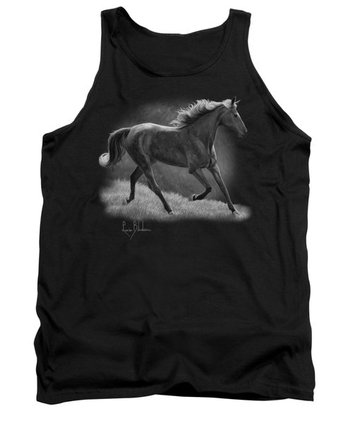 Free - Black And White Tank Top by Lucie Bilodeau
