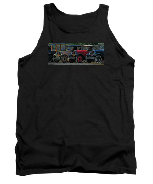 Free Parking Tank Top by Janice Westerberg