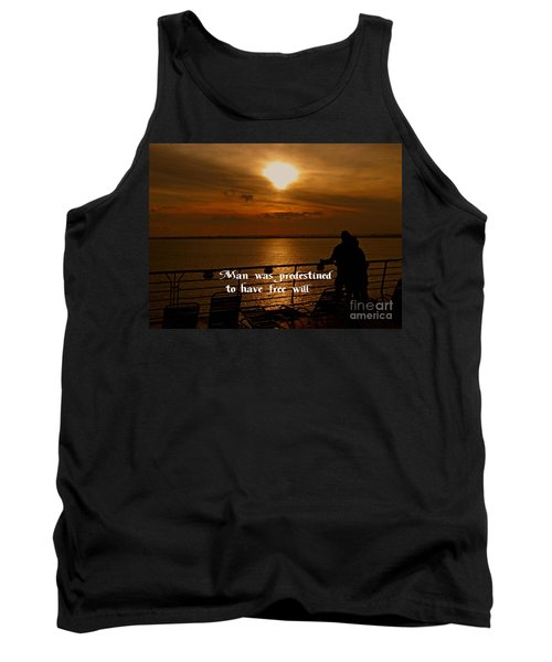Tank Top featuring the photograph Free Will by Gary Wonning