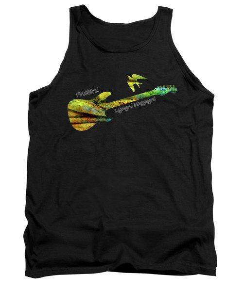 Freebird Lynyrd Skynyrd Ronnie Van Zant Tank Top by David Dehner