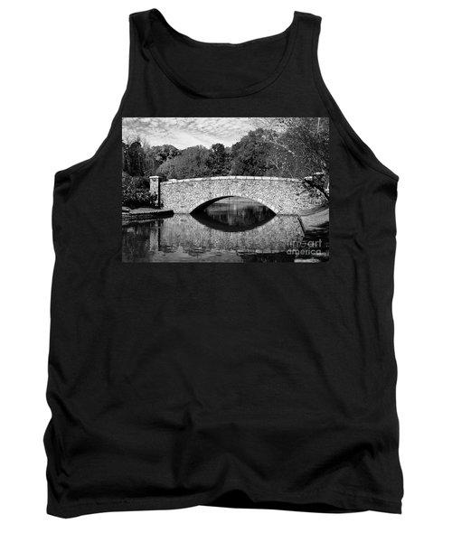 Freedom Park Bridge In Black And White Tank Top