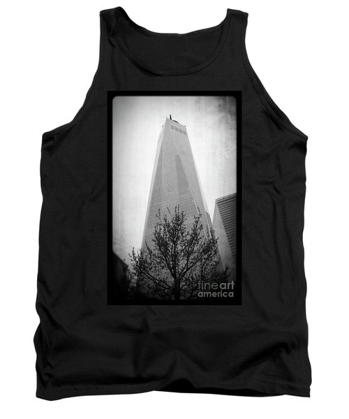Tank Top featuring the photograph Freedom Tower 2 by Paul Cammarata